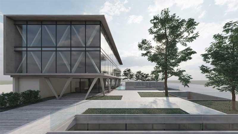 Nueva sede para la AUF - Facultad de Arquitectura - Universidad ORT Uruguay