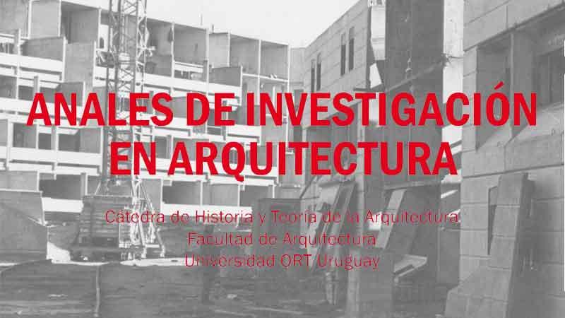 Anales de Investigación en Arquitectura