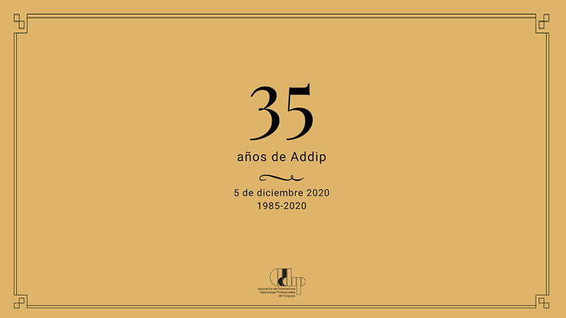 35 aniversario de Addip