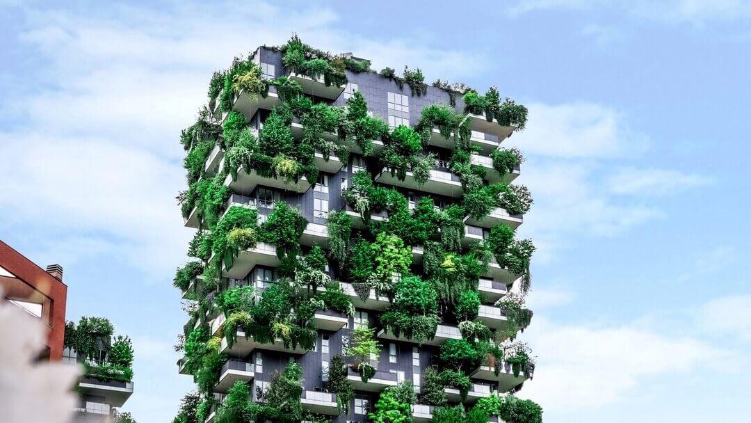 Bosco Verticale, arquitectura sustentable en Milán.