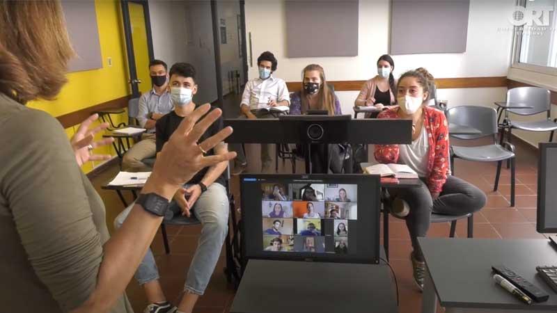 Nuestras clases online son un éxito - Facultad de Arquitectura - Universidad ORT Uruguay