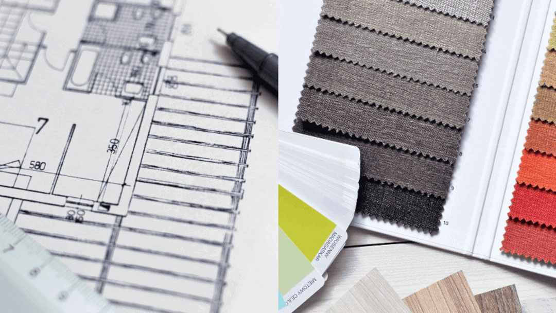 Diferencias entre diseño y decoración de interiores