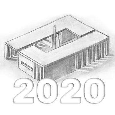 Anuario de Dibujo de Arquitectura 2020 - Facultad de Arquitectura - Universidad ORT Uruguay