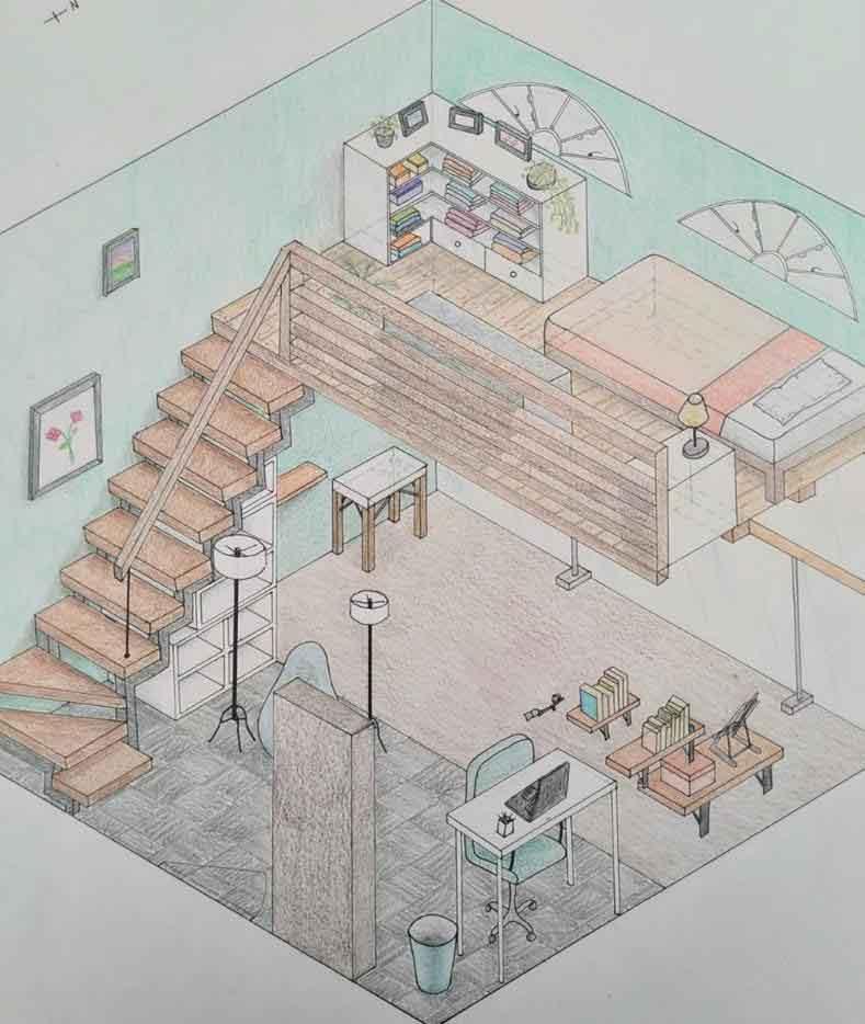 *Lucía Ferreira, Diseño del cuarto de mis sueños*