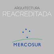 Acreditacion mercosur Arquitectura