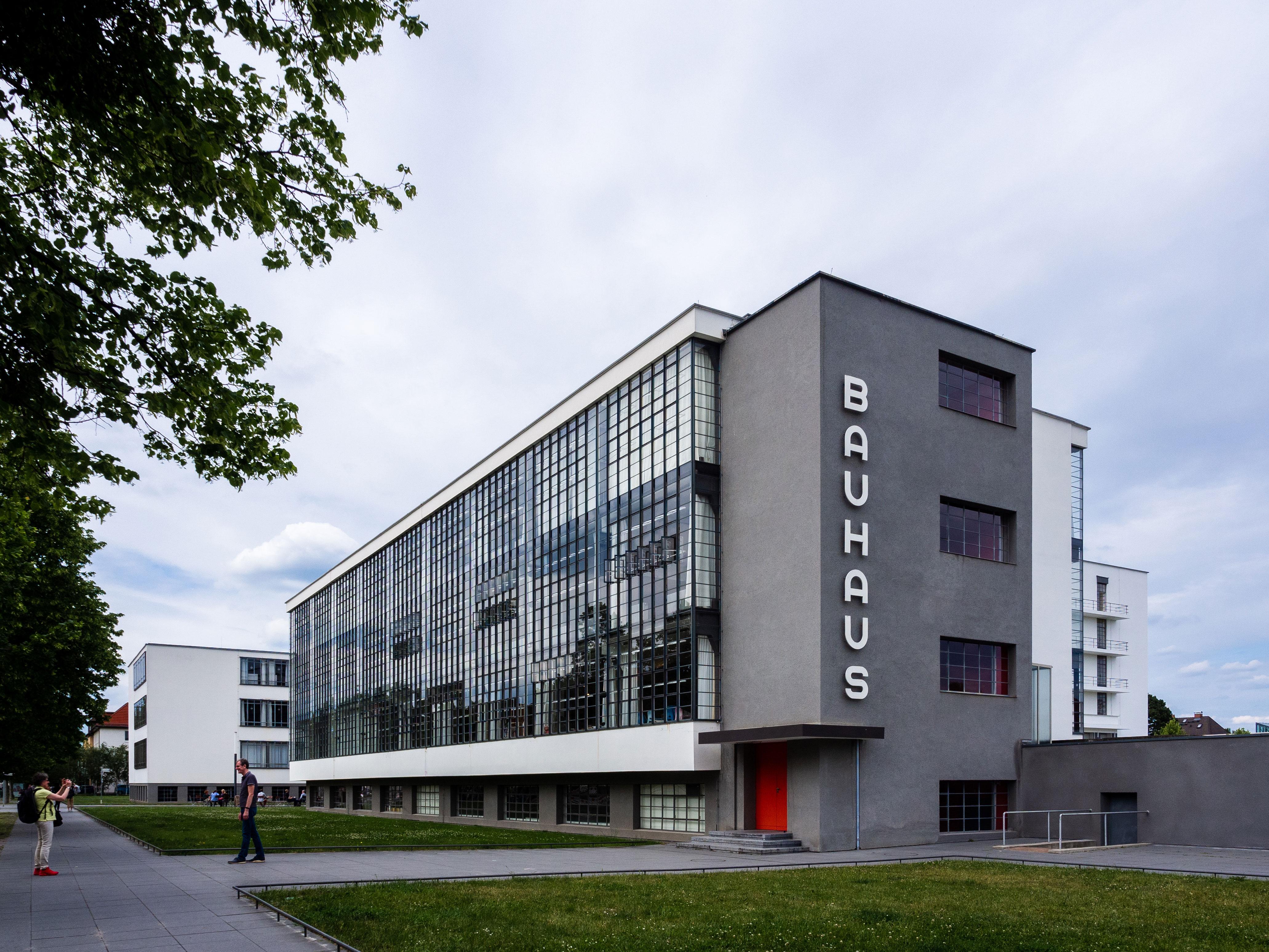 *Sede de la Bauhaus en Dessau*
