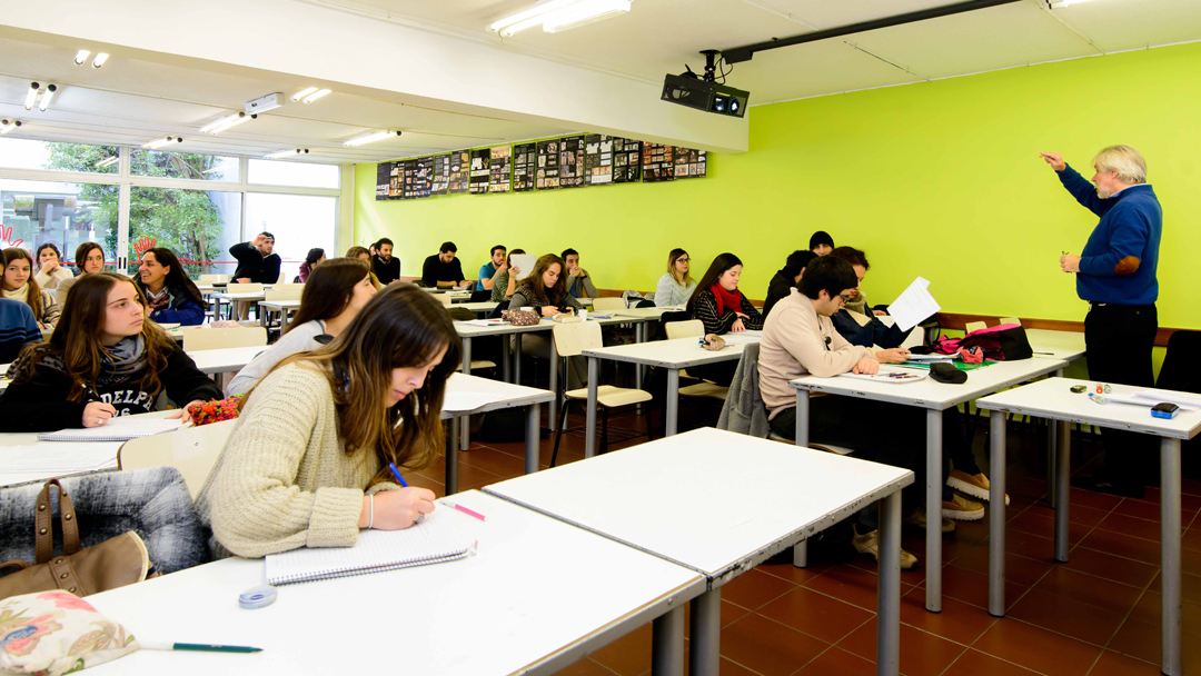 Aulas de la Facultad de Arquitectura - Universidad ORT Uruguay