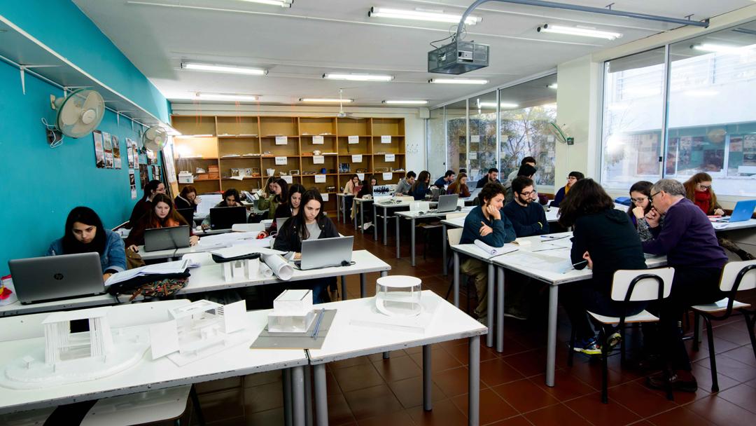 Clases de proyecto Facultad de Arquitectura - Universidad ORT Uruguay