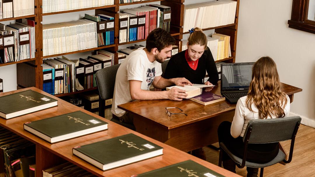 Salas de lectura - Biblioteca Campus Pocitos - Universidad ORT Uruguay