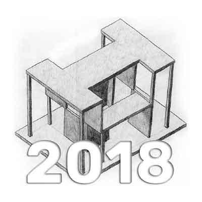 Anuario de Dibujo de Arquitectura 2018 - Universidad ORT Uruguay
