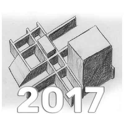 Anuario de Dibujo de Arquitectura 2017 - Universidad ORT Uruguay