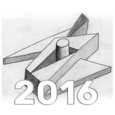 Anuario de Dibujo de Arquitectura 2016 - Universidad ORT Uruguay