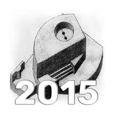 Anuario de Dibujo de Arquitectura 2015 - Universidad ORT Uruguay