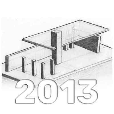 Anuario de Dibujo de Arquitectura 2013 - Universidad ORT Uruguay
