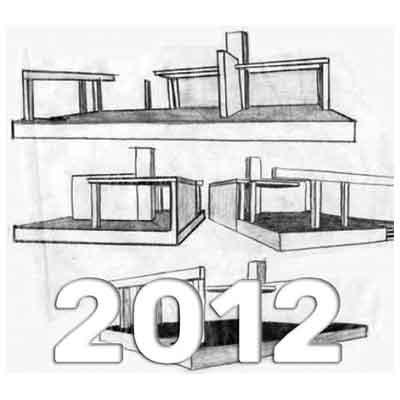 Anuario de Dibujo de Arquitectura 2012 - Universidad ORT Uruguay